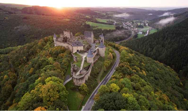 Luxemburg Bourscheid