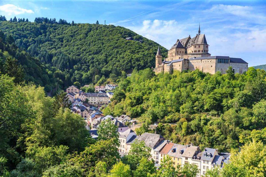Luxemburg Vianden Fuussekaul Camping
